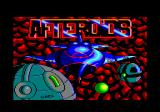 Afteroids Amstrad CPC Loading screen