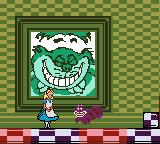 Walt Disney's Alice in Wonderland  Game Boy Color Meeting the Cheshire Cat