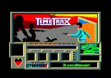 Time Trax Amstrad CPC Title and loading screen