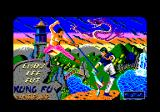 Choy-Lee-Fut Kung-Fu Warrior Amstrad CPC Loading screen
