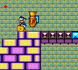 The Lucky Dime Caper starring Donald Duck Game Gear Lot's of pots and moving blocks at the Mesoamerican temple.