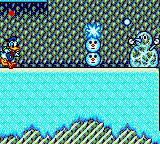 The Lucky Dime Caper starring Donald Duck Game Gear It's the snowman! And this one is alive!