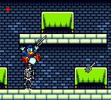 The Lucky Dime Caper starring Donald Duck Game Gear Yeah, skeletons and flying forks! Is there some Poltergeist?