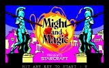 Might and Magic: Book One - Secret of the Inner Sanctum PC-98 Title screen