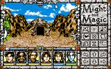 Might and Magic: Clouds of Xeen PC-98 Mountains. Dungeon entrance