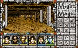 Might and Magic: Clouds of Xeen PC-98 Exploring a dungeon