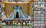 Might and Magic: Darkside of Xeen PC-98 Someone usually lives in such tents