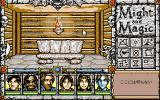 Might and Magic: Darkside of Xeen PC-98 Towns have benches, plants, and other similar details