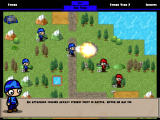 Warbands: Rise of Baron Muntu Windows Blasting an enemy with a rocket (Demo version)