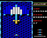 Arkanoid BBC Micro Level 16 homage to Galaxians?