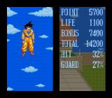 Dragon Ball Z: Super Butōden SNES Fight statistics