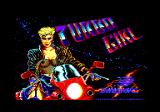 Turbo Girl Amstrad CPC Loading screen