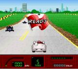 Speed Racer in My Most Dangerous Adventures SNES Starting the race.