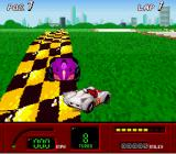 Speed Racer in My Most Dangerous Adventures SNES I spun out because of one of these purple guys.