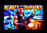 Navy Moves Amstrad CPC Loading screen