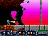 Turrican II: The Final Fight DOS Beginning of level 2