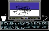 Arcticfox Commodore 64 The enemy preview mode