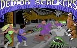 Demon Stalkers Commodore 64 Title screen