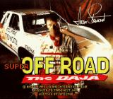 Super Off Road: The Baja SNES Title Screen