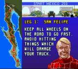 Super Off Road: The Baja SNES Selected a race. Ivan Stewart is still game!