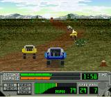 Super Off Road: The Baja SNES Quad bikes cost you money when you run them over