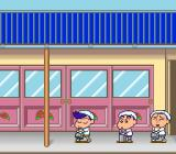Crayon Shin-chan: Arashi o Yobu Enji SNES Carry the bucket without tripping everybody up