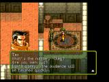 Suikoden PlayStation Talking to your father, general McDohl