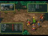 Suikoden PlayStation Regular battle