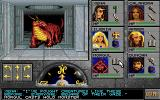 Eye of the Beholder II: The Legend of Darkmoon Amiga Casting a hold monster spell. That Basilisk is an easy target now.
