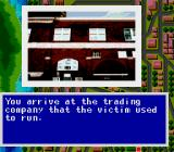 Murder Club TurboGrafx CD Robbins was found dead at his office