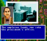 Murder Club TurboGrafx CD ... and introduced to the company's president