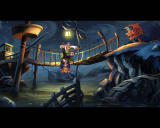Monkey Island 2: LeChuck's Revenge - Special Edition Windows Guybrush has a pleasant meeting with Largo..