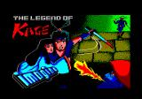 The Legend of Kage Amstrad CPC Loading screen