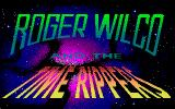 Space Quest IV: Roger Wilco and the Time Rippers PC-98 ...and sub-title screen