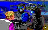 Space Quest IV: Roger Wilco and the Time Rippers PC-98 The evil Vohaul talks to Roger