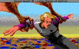 Space Quest IV: Roger Wilco and the Time Rippers PC-98 Cut-scene: Roger is carried away by a giant bird!