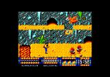 Renegade III: The Final Chapter Amstrad CPC My first enemies, cavemen. That pterodactyl drops an egg that becomes a mini-dinosaur.
