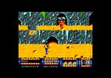 Renegade III: The Final Chapter Amstrad CPC That guy tries to smash you with that boulder.