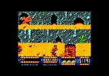 Renegade III: The Final Chapter Amstrad CPC A lava pit.