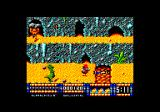 Renegade III: The Final Chapter Amstrad CPC I died in the lava.