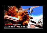 007: Licence to Kill Amstrad CPC Loading screen