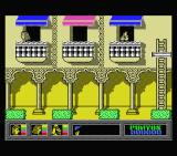 Mystery of the Nile MSX Starting the game.
