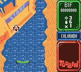 Toobin' Game Boy Color The starting line.