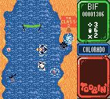 Toobin' Game Boy Color If I can get to that whirlpool, I can warp to Class 2.