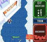 Toobin' Game Boy Color The starting line of Yukon.
