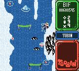 Toobin' Game Boy Color Watch out for the penguins.