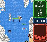 Toobin' Game Boy Color I've a feeling the snakes aren't friendly, either.
