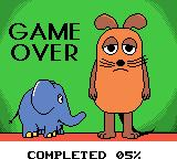 Die Maus Game Boy Color I lost all my lives. Game over.