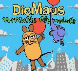 Die Maus: Verrückte Olympiade Game Boy Color Title screen