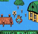 Die Maus: Verrückte Olympiade Game Boy Color Letting the animals off at the dock.